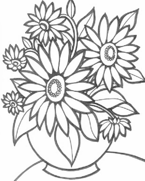 Desenhos De Flores 38 Ideias Para Imprimir E Colorir Adult