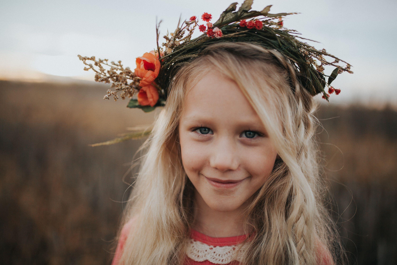 Children's boho shoot  Little girl flower crown  Flower crown  Shalon Blackwell Photography