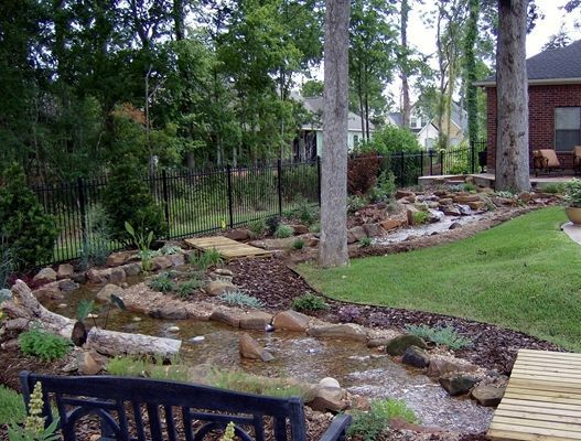 Creative Water Features Texas Ponds And Water Features Outdoor Creative Water Creeks Water Features In The Garden Water Features Ponds Backyard