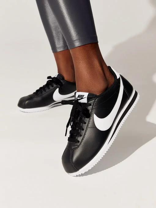 Nike | Nike Leather White Cortez Trainers at ASOS | Nike
