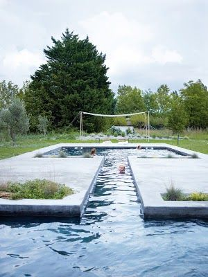 I shaped pool | For the Home | Pinterest | Cool pools ...
