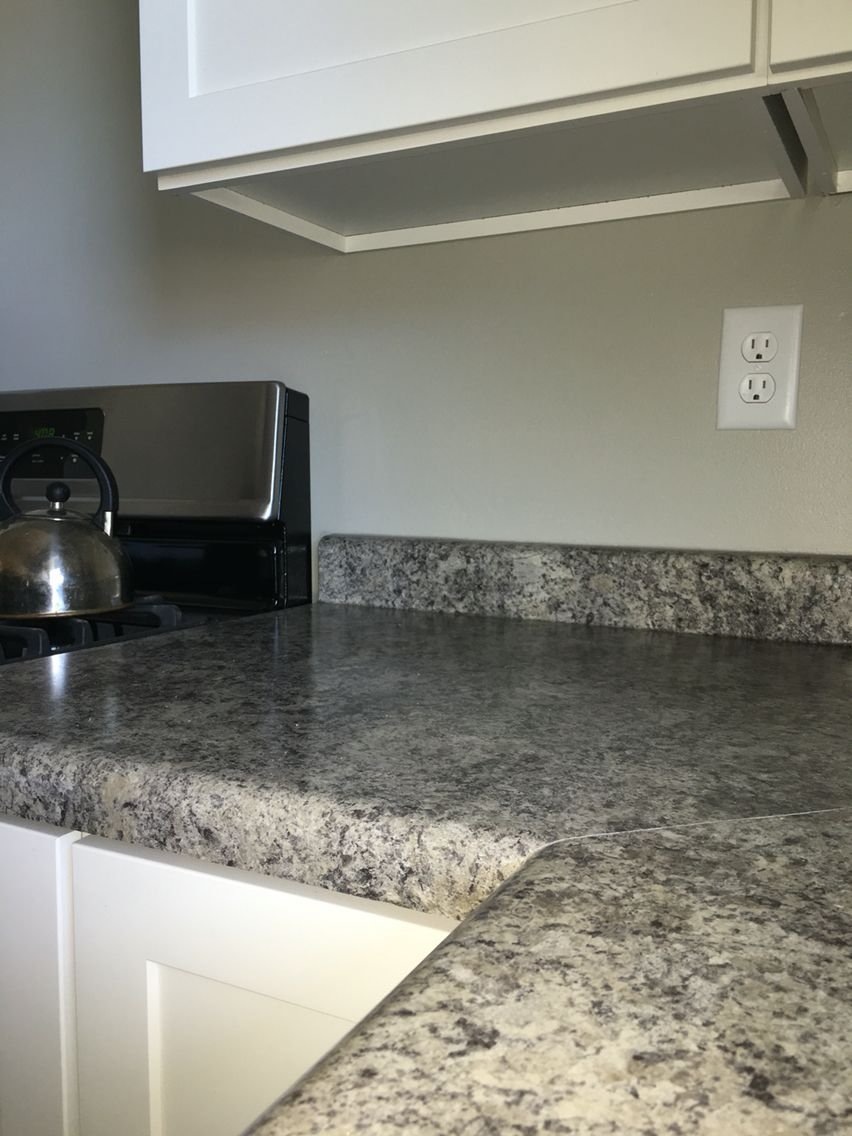 Decided To Do Perlato Granite Formica Laminate Looks