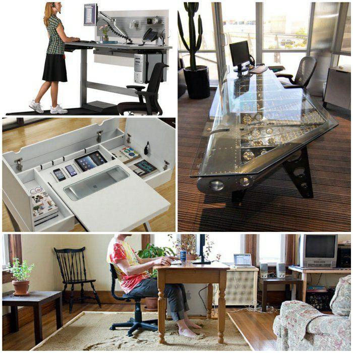 coole schreibtische designer schreibtische büromöbel ideen | büro, Möbel
