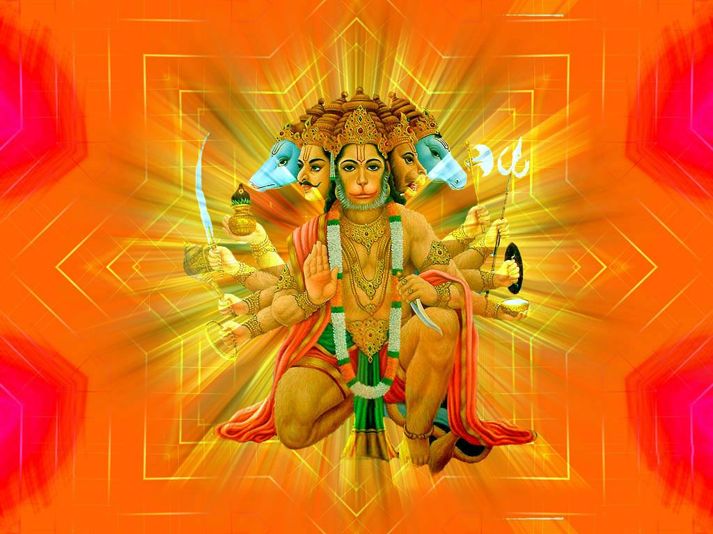 FREE Download Panchmukhi Hanuman Ji Wallpapers