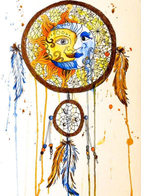 36++ Sun and moon dreamcatcher ideas
