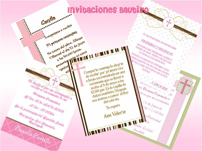 Frases Para Invitaciones De Bautizo Frases De Invitacion