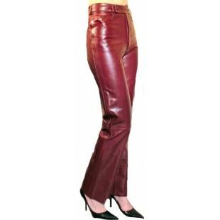 anouchka pantalon femme cuir agneau waxy bordeaux pantalon en cuir pour femme pinterest. Black Bedroom Furniture Sets. Home Design Ideas