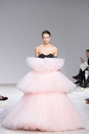 quality design f8002 3f7ee Abito rosa in tulle Giambattista Valli - Vestito oversize ...