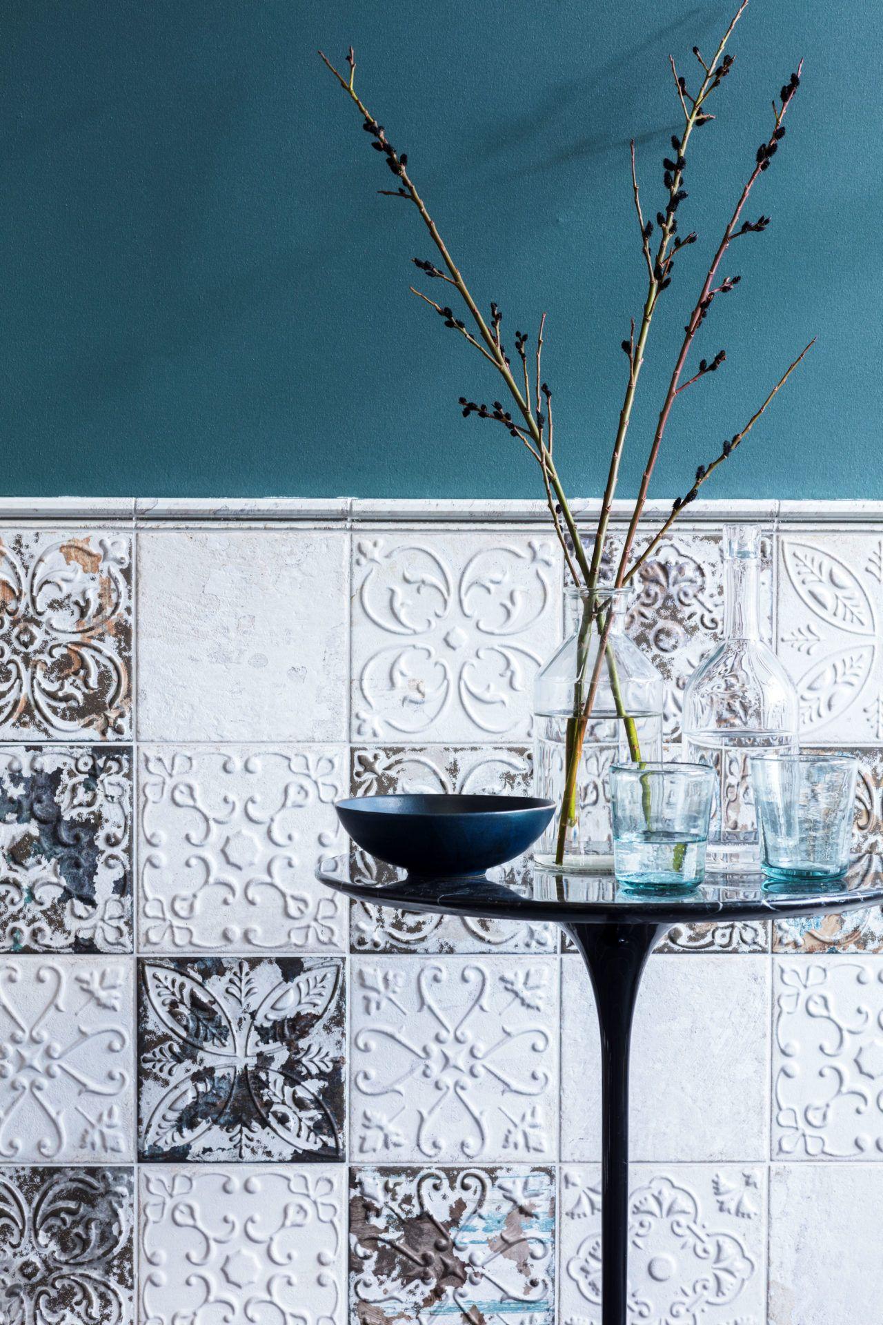 Demelza Tin Oxide Decor Decorative Collection | Cornice, Showroom ...