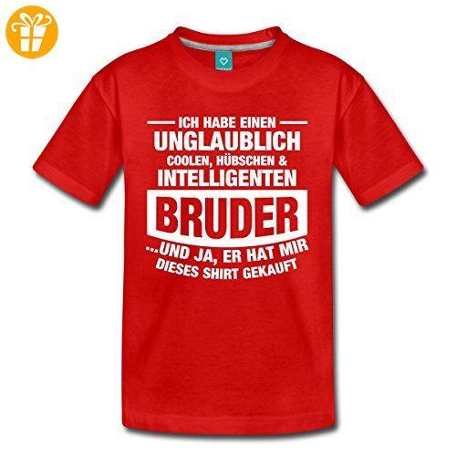 Cooler Intelligenter Bruder Lustiger Spruch Kinder Premium T Shirt Von  Spreadshirt®, 122/