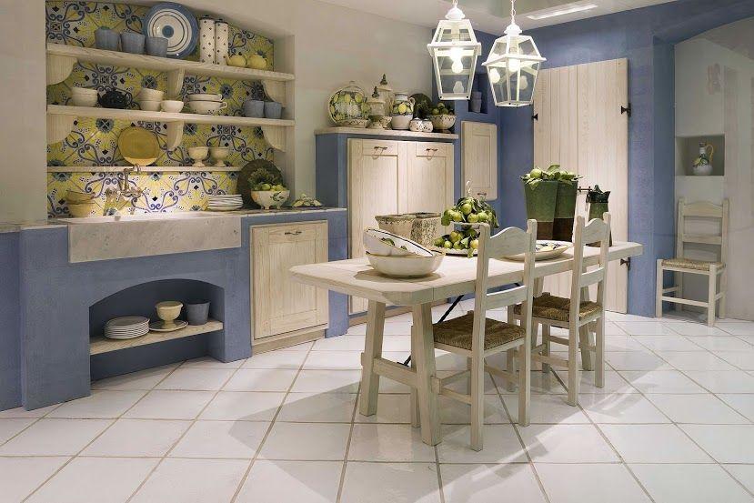 Per esterni o per interni, la #cucina in muratura è un classico ...