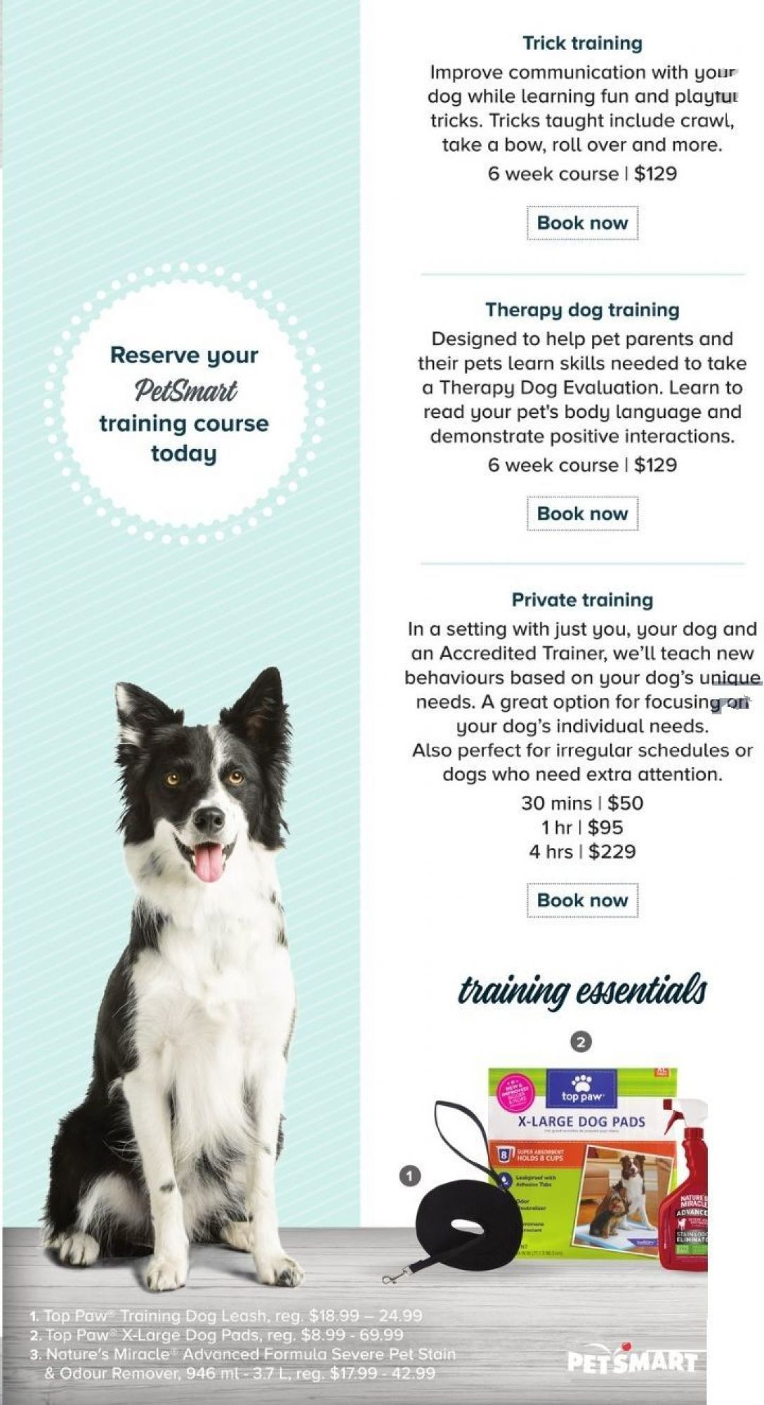 Flyer Petsmart Monthly Canada From Friday June 1 2018 To Sunday July 1 2018 Flyer Petsmart Therapy Dog Training