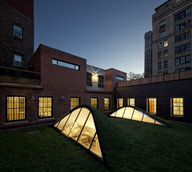 Caliper Studio Genetic Stair: Caliper Studio Has The Coolest Roof In New York