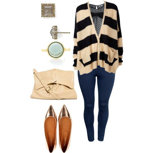 plus size casual/fall, created by kristie-payne on Polyvore