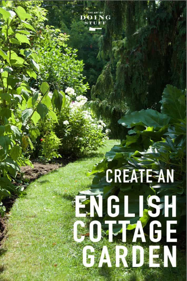 The English Cottage Garden. via @artofdoingstuff ...es the ...