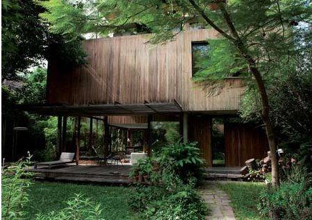 Soirée au jardin°° Architectures Pinterest Maison, Maison - Plan Maison Bois Sur Pilotis