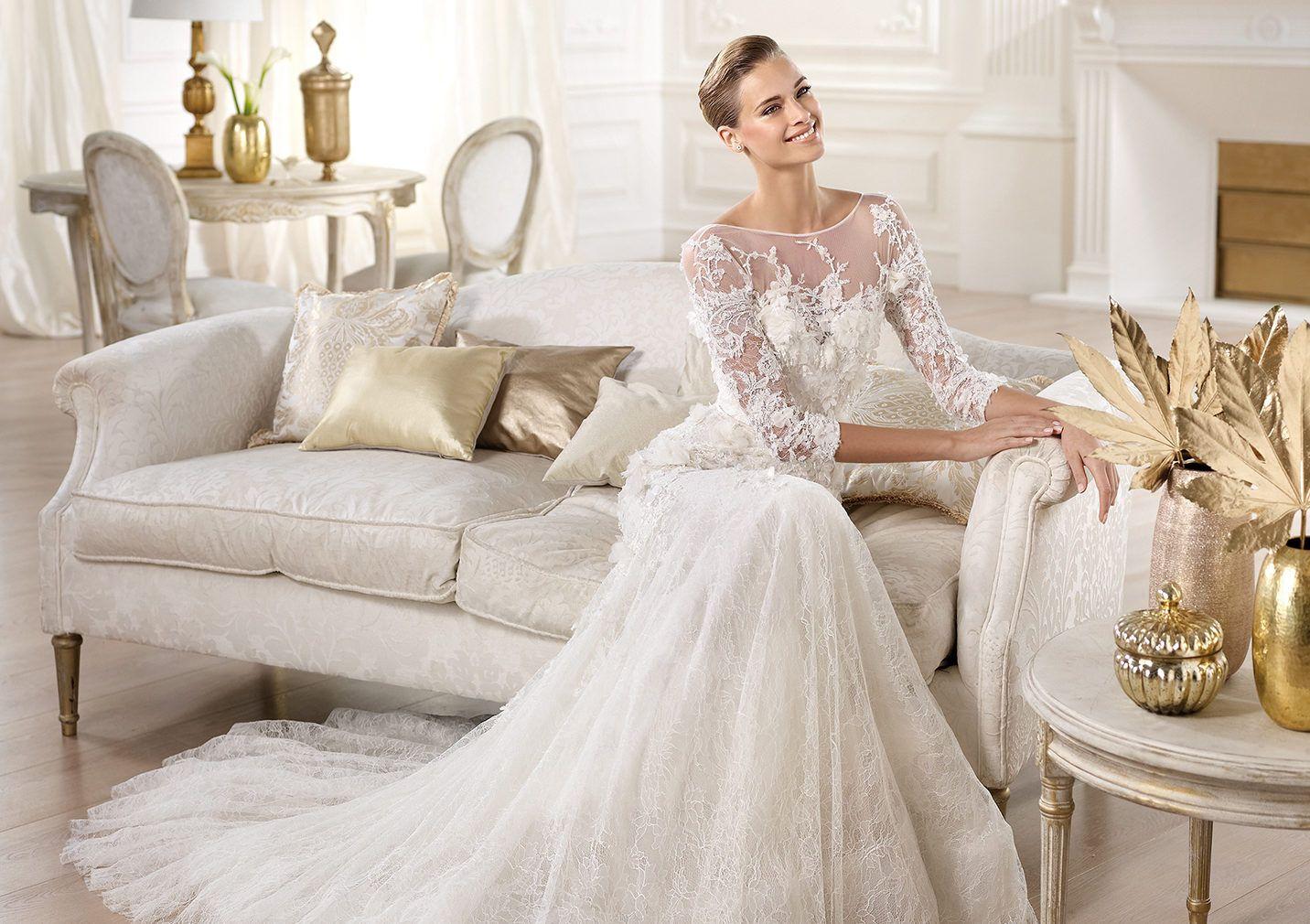 Cignus wedding dress elie saab pronovias manuel mota