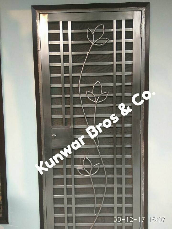 We Are One Of The Best Stainless Steel Doors Manufacturer In Noida And Delhi Ncr More Information Ple Steel Door Design Steel Security Doors Steel Front Door