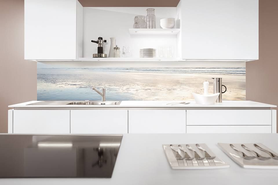 Palazzo Kitchens  Appliances supply printed panels from Germany
