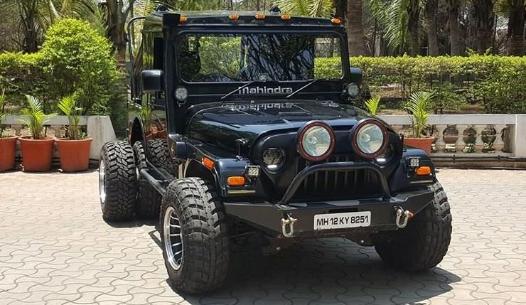 5 Crazy Things People Have Done With Mahindra Jeeps In India