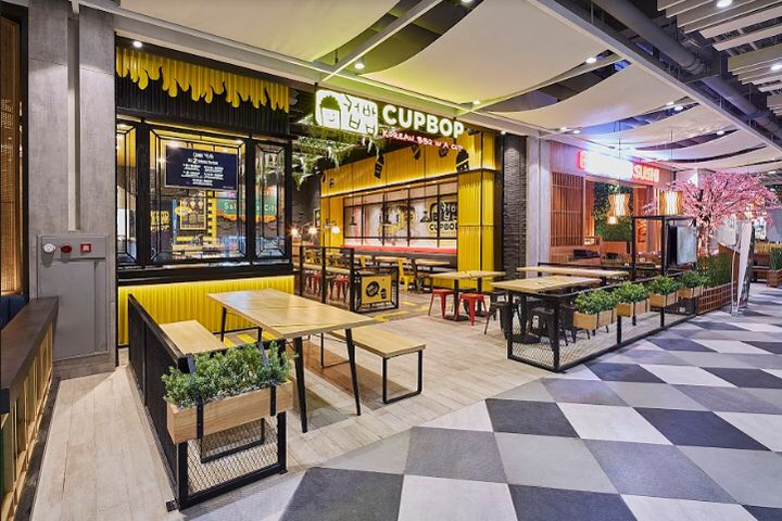 Cupbob Korean Bbq By High Street Jakarta Indonesia Korean Bbq Shopping Mall Design Resturant Design