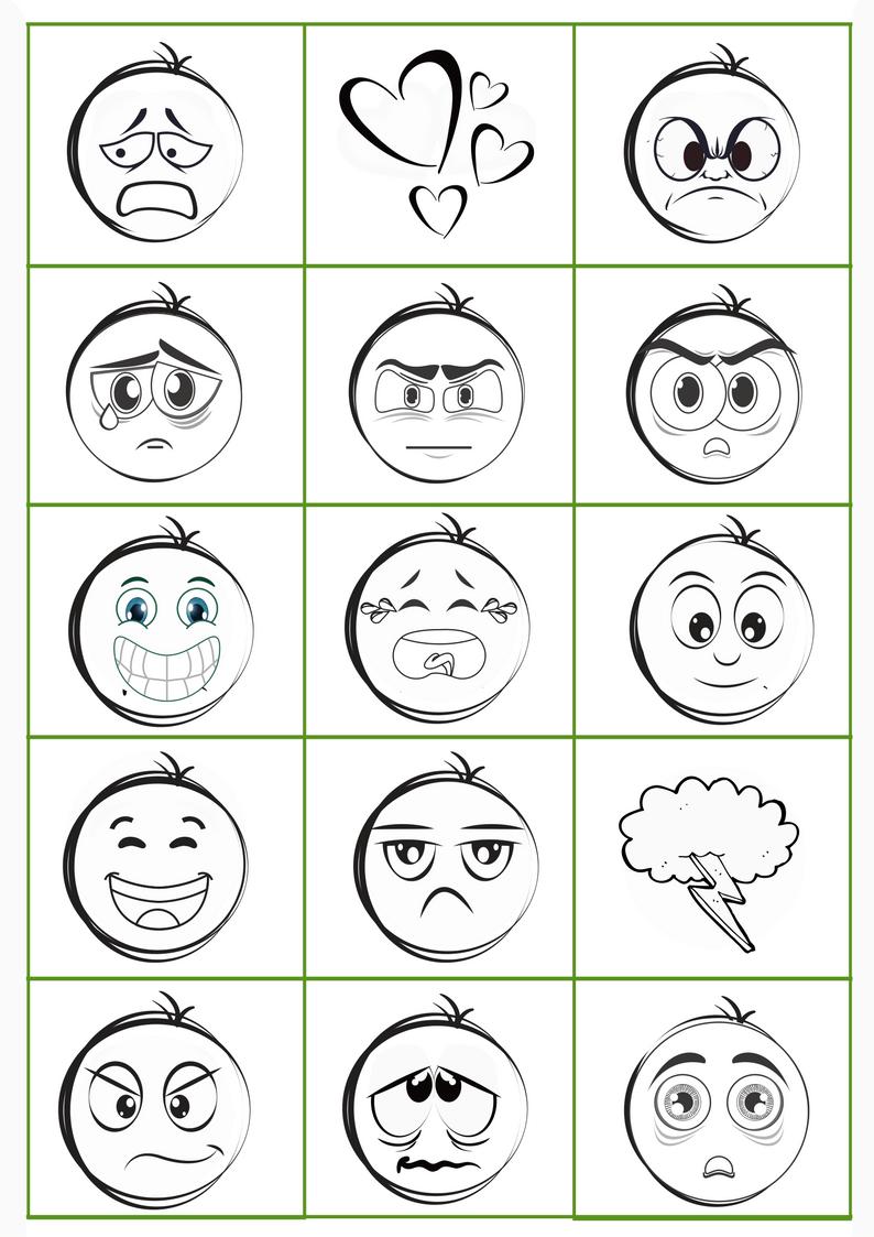 Tolle Gefühle Malvorlagen Zum Ausdrucken Bilder - Druckbare ...