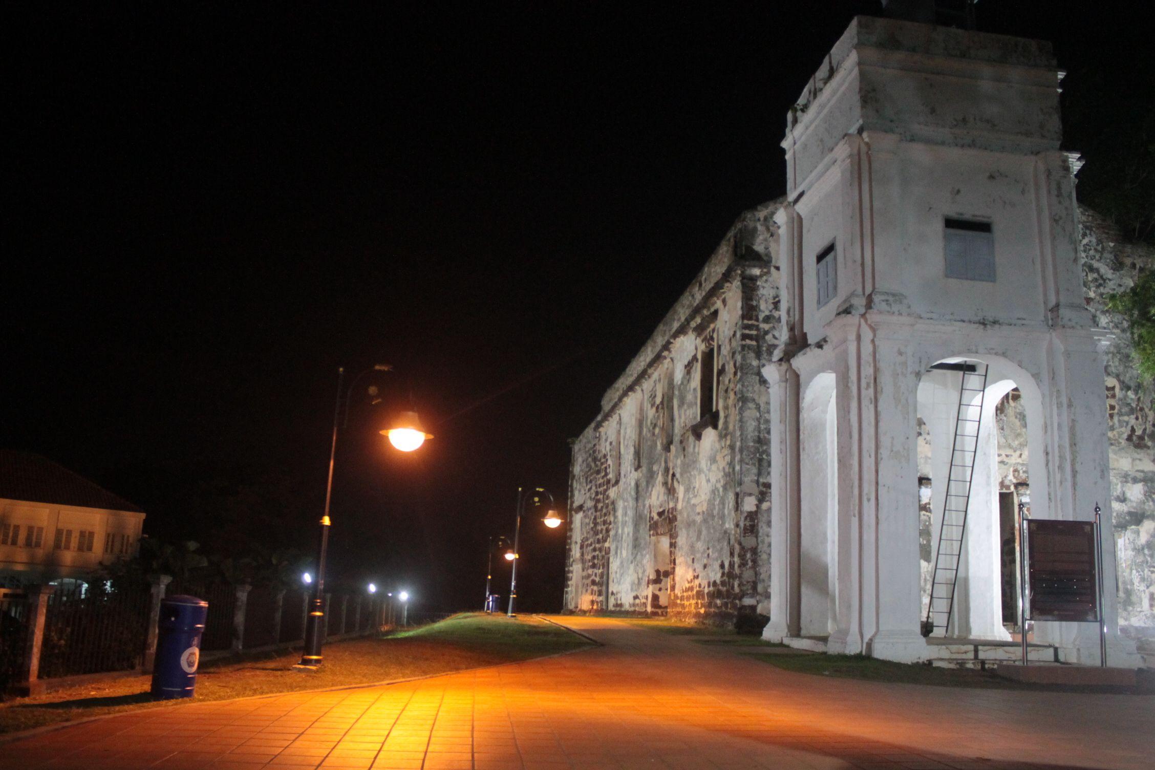 Iglesia de Saint Paul de noche