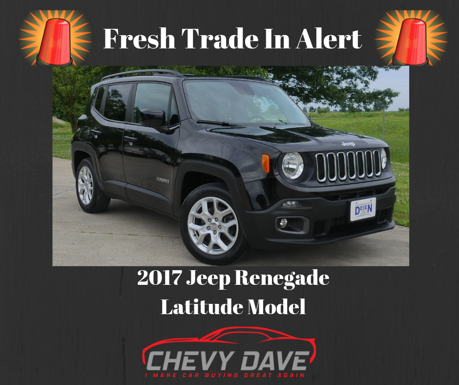 Fresh Trade In Alert 2017 Jeep Renegade Latitude Model Great Shape And Has Only 22k Miles On It It Is Priced To Sell And Wont Last Long Mess Jeep Renegade