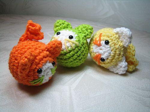 Juggling Cats by Susan Morishita - FREE CROCHET PATTERN | Crochet ...