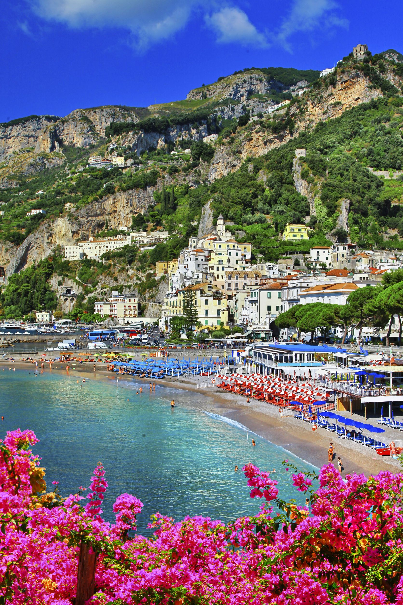 Beautiful Scene Of Amalficoast Italy L Places To Visit L Travel Destination L Tourism Amazing Travel Destinations Amalfi Coast Beautiful Places Nature