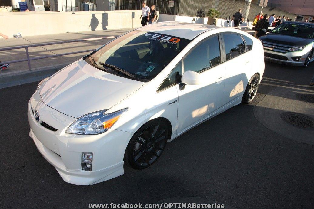 Toyota Prius At The 2010 Sema Show In Las Vegas Www Powerpacknation Com Chevrolet Volt Hybrid Car Toyota Prius