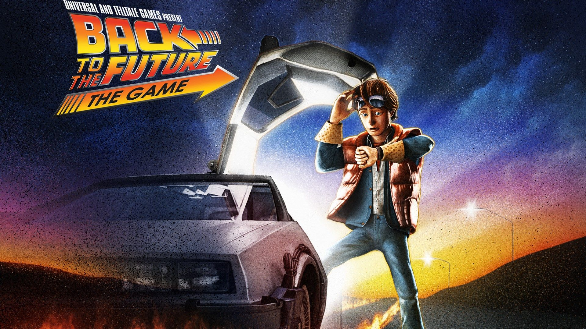 1920x1080 Desktop Wallpaper For Back To The Future The Game Jpg