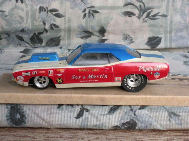 Sox And Martin Slot Car Drag Racing Slot Cars Plastic Model Cars