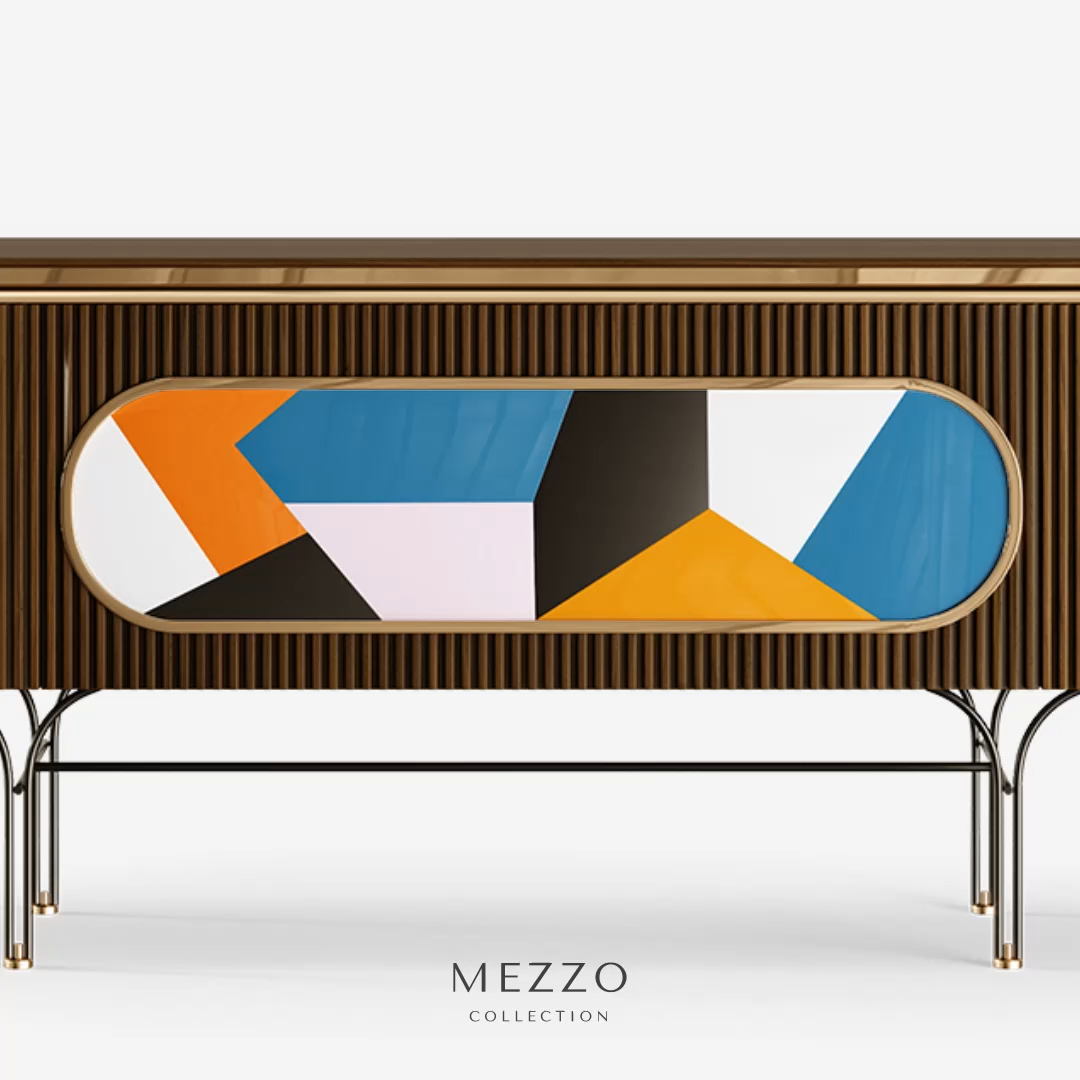 Bailey Sideboard by Mezzo Collection.  #tendencedeco #vintage #midcentury #mezzocollection #mezzogeneration #midcenturymodern #midcenturyfurniture #midcenturystyle #luxuryinteriordesign #decorinspiration #designtrends #designinspiration #exclusivedesign #furnituredesign #inspirations #luxuryfurniture #uniquedesign #homedesignideas #luxury #interiorarchitecture #interiorismo #luxuryliving #luxurylighting #lighting #luxurylightingdesign #luxurylighting #sideboard