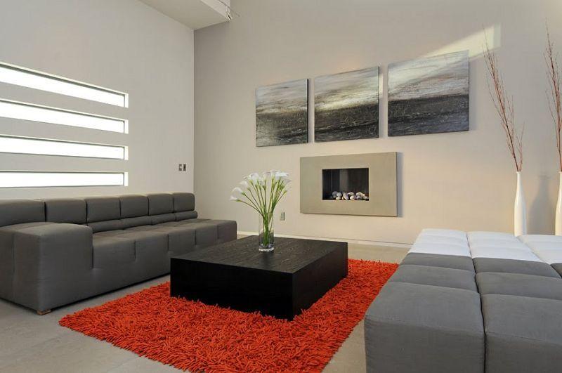 decoracion-con-cuadros-minimalistas | Decoracion | Pinterest ...