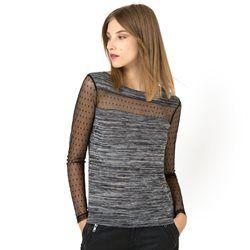 Camiseta de cuello redondo y manga larga LES PETITS PRIX