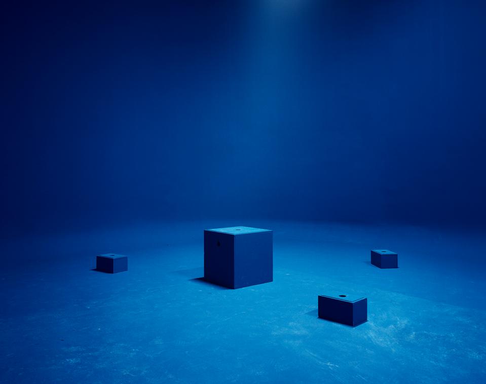 Marina Gadonneix  5 / 10  Rock and sand, 2012, digital C-Print, 126X150 cm