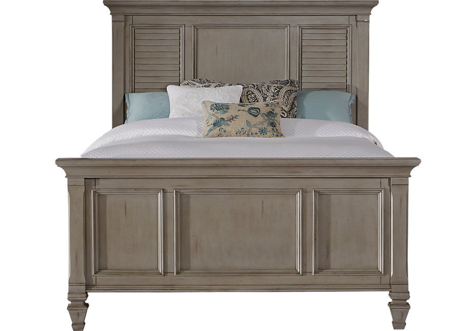 picture of Belmar Gray 3 Pc Queen Panel Bed from  Furniture