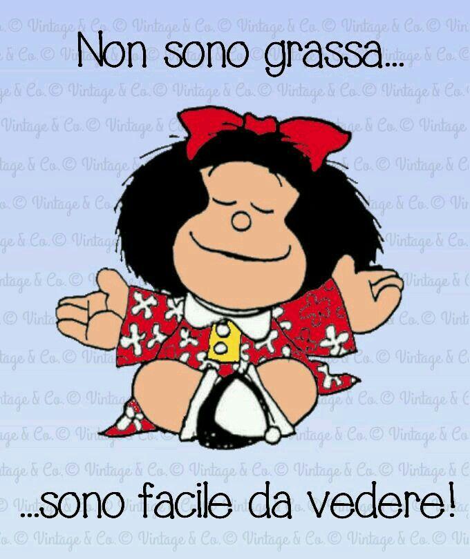 mafalda #peso | Citazioni umoristiche, Citazioni divertenti ...