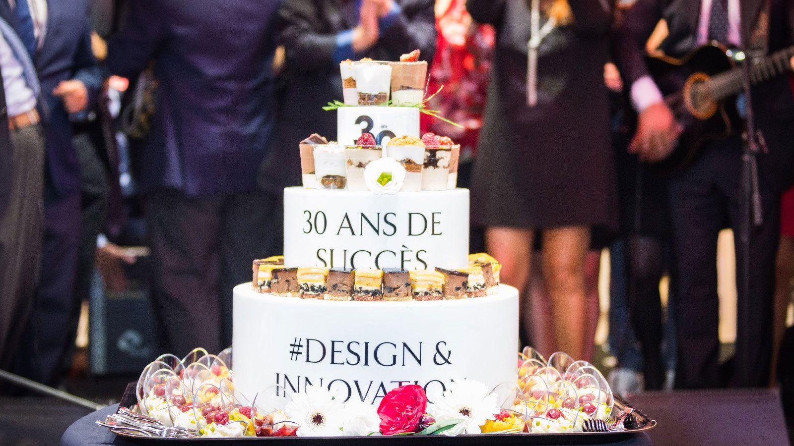 PORCELANOSA Grupo celebra sus 30 años en Estrasburgo y