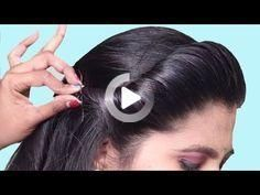 Latest hairstyles for party/Wedding ★ Easy hairstyle for beginners step by step ★ hair style girl [a