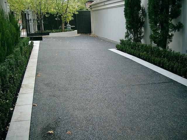 Modern Concrete Driveway Best Concrete Driveways Ideas On