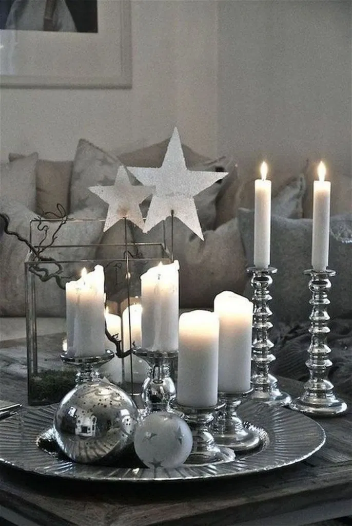 √24 Charming White Christmas Decor Ideas On A Budget