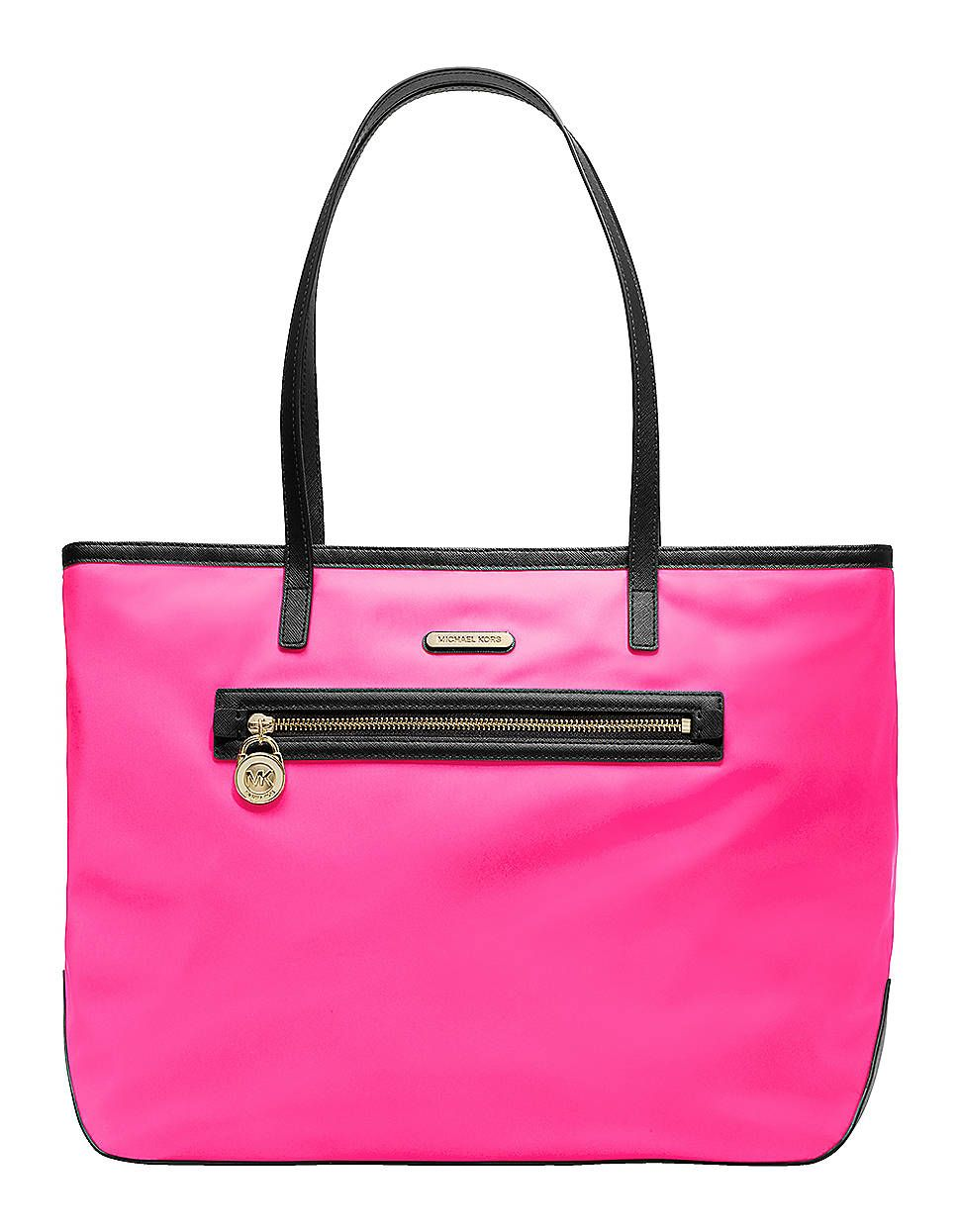 523d3837852c OBSESSED: Michael Kors Kempton Large Nylon East West Tote Bag | Lord and  Taylor