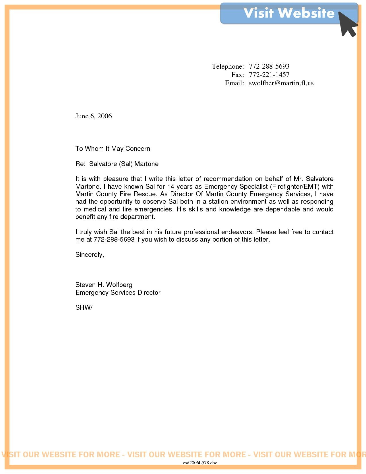 example of a firefighter cover letter in 2020 Letter of