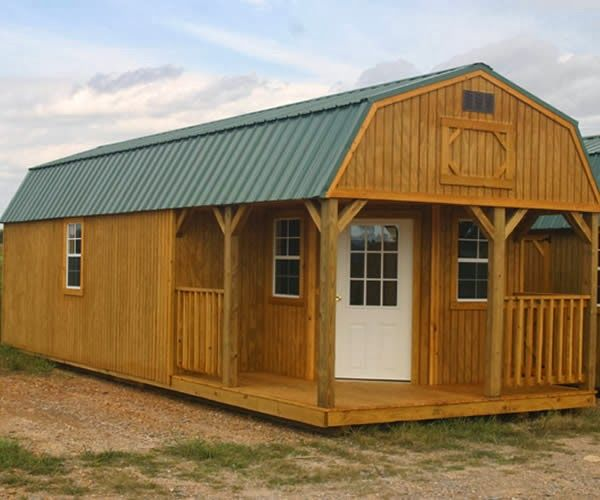 Sweatsville: Deluxe Lofted Barn Cabin