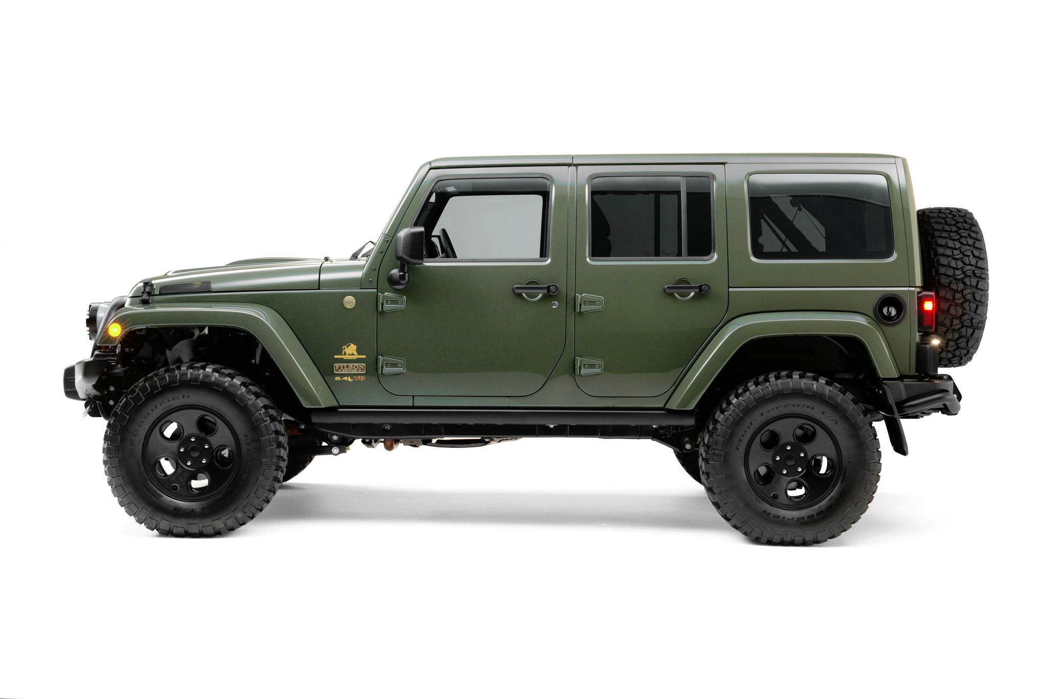 Filson X Aev Limited Edition Jeep Wrangler Camion Jeep Jeep Voiture