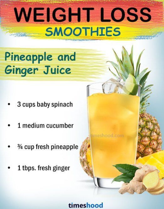 Ginger Pineapple Green Juice for weight loss Best weight loss shakes healthy fruit smoothies for weight loss Check out more weight loss drinks