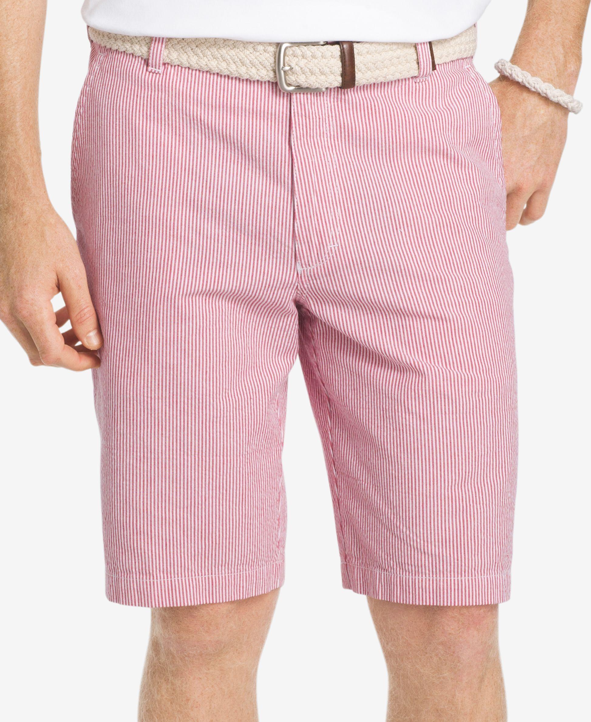 Izod Men's Sandy Bay Seersucker Shorts