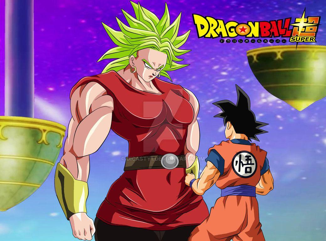Female Broly Ssj Vs Son Goku By Dicasty1 E
